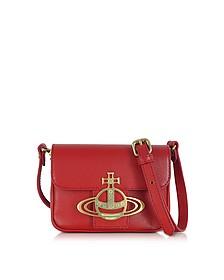 Liz Mini Flap Leather Crossbody Bag