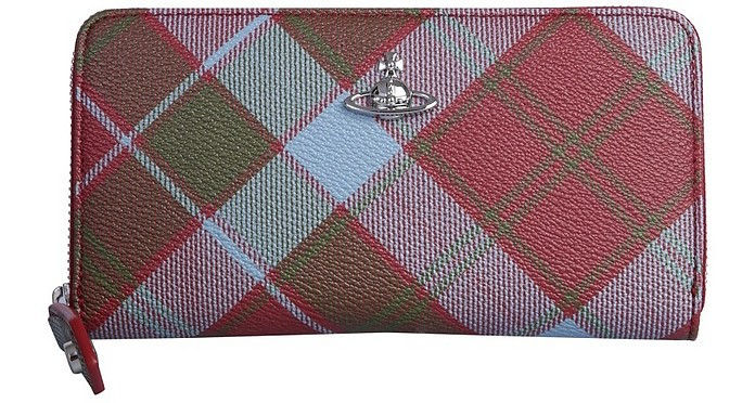 Yasmine Zip Around Wallet - Vivienne Westwood