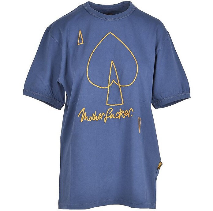 Women's Blue T-Shirt - Vivienne Westwood / ヴィヴィアン ウエストウッド