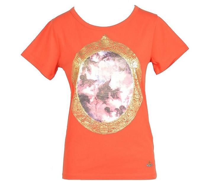 Women's Orange T-Shirt - Vivienne Westwood