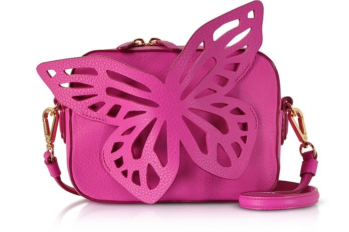 Fuchsia Flossy Butterfly Camera Bag - Sophia Webster