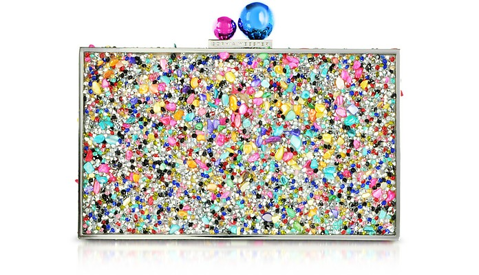 Clara Crystal Box Clutch  - Sophia Webster