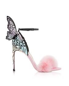 Pink Maribou & Pastel Talulah Sandals - Sophia Webster