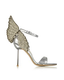 Silver Evangeline Sandals - Sophia Webster