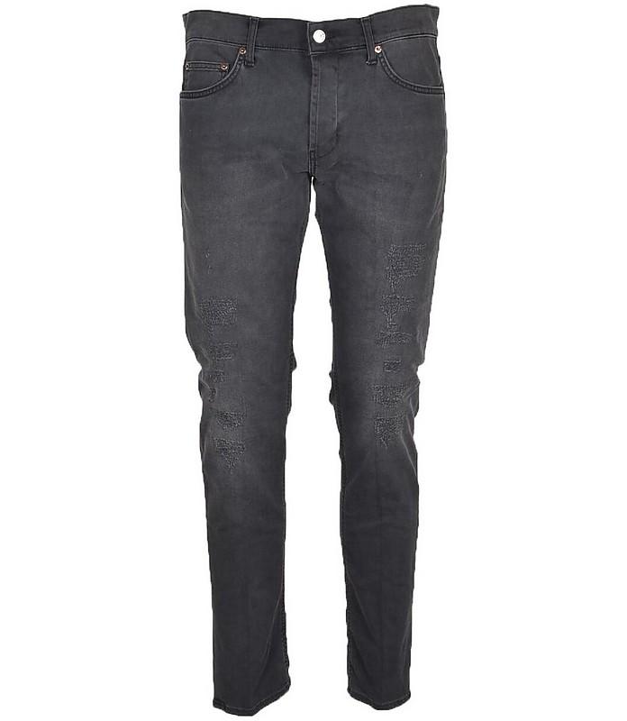 Men's Black Jeans - Aglini