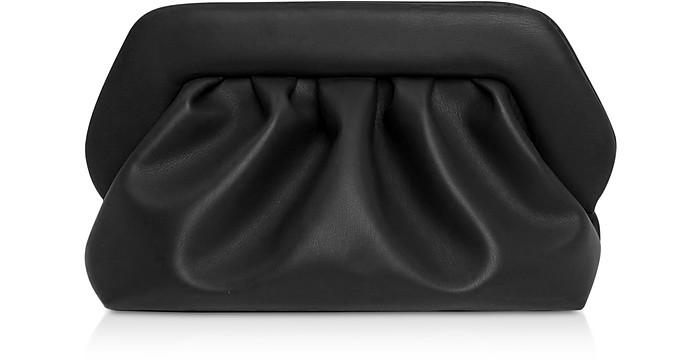 Black Eco-Leather Pouch Bag - THEMOIRÉ