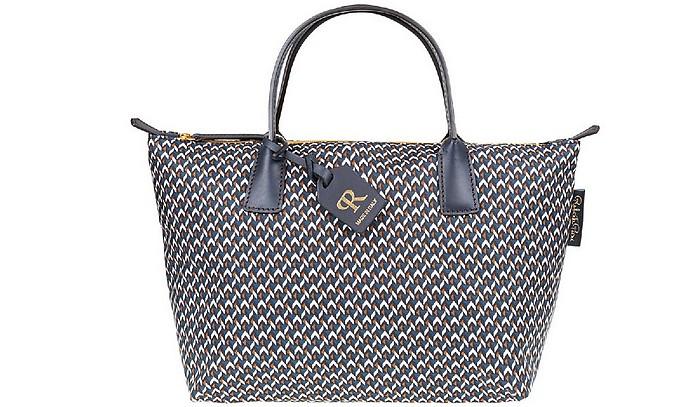 Blue Robertina Tatami Lounge Small Duffle Bag - ROBERTA PIERI