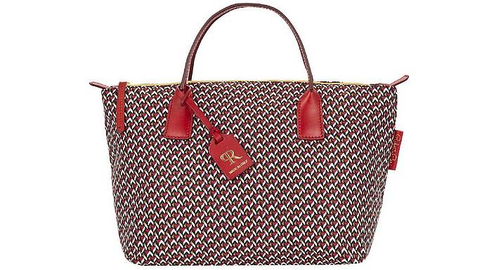 Red Robertina Tatami Lounge Small Duffle Bag - ROBERTA PIERI