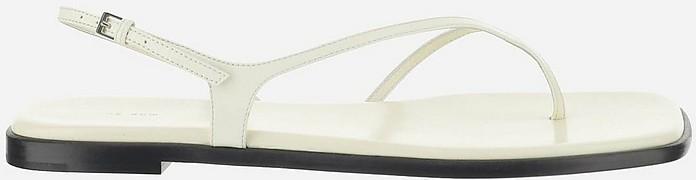 The Row White High Heels