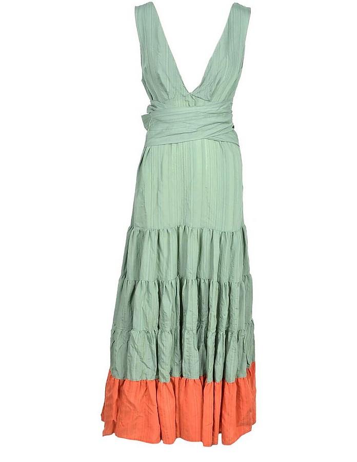 Women's Aqua Dress - Weili Zheng