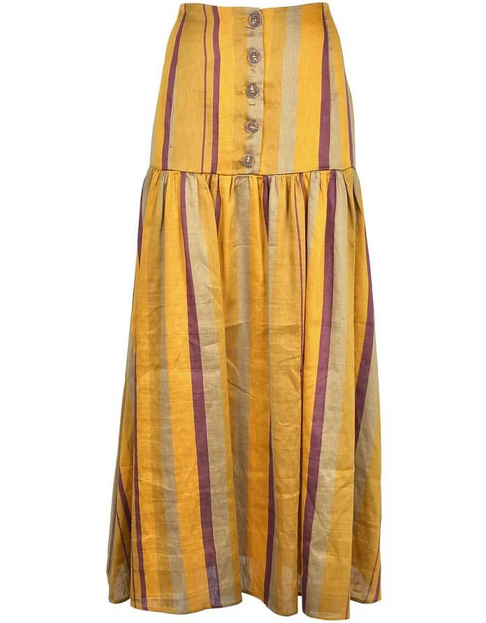 Women's Multicolor Skirt - Weili Zheng