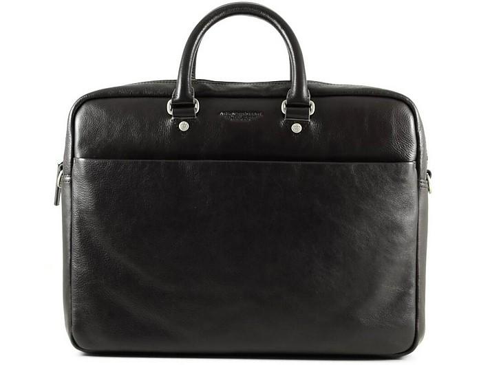 Men's Dark Brown Satchel Bag - a.g.spalding&bros