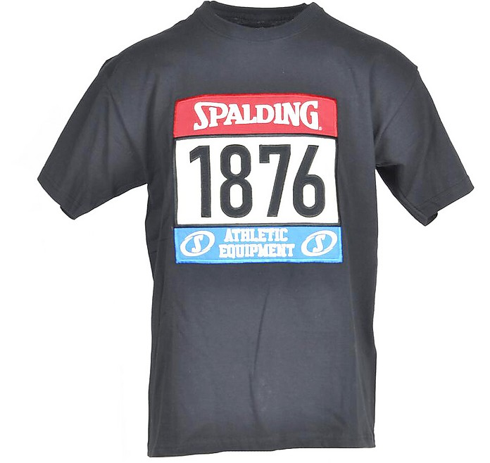 Men's Black T-Shirt - a.g.spalding&bros