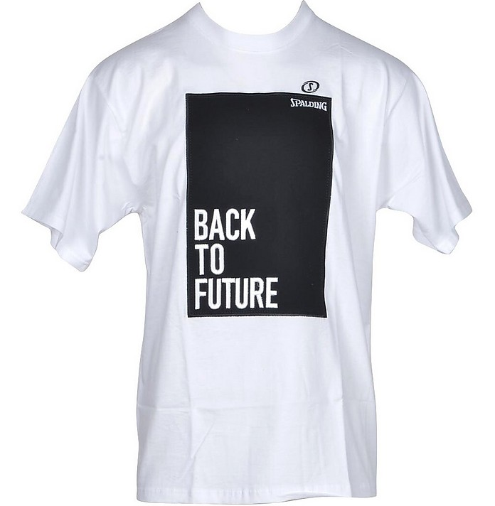 Men's White / Black T-Shirt - a.g.spalding&bros