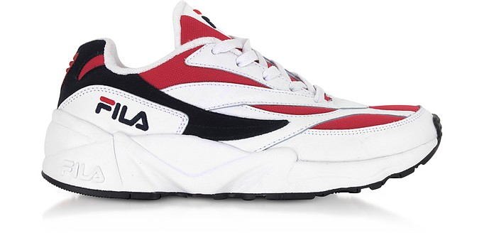 V94M Low White & Red Men's Sneakers - FILA