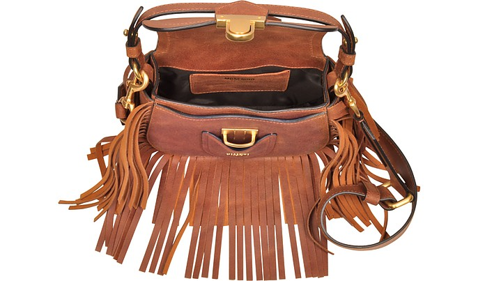 13418108d0270 Brown Leather Crossbody Bag w/Fringes - Moschino. C$1,410.00 Actual  transaction amount