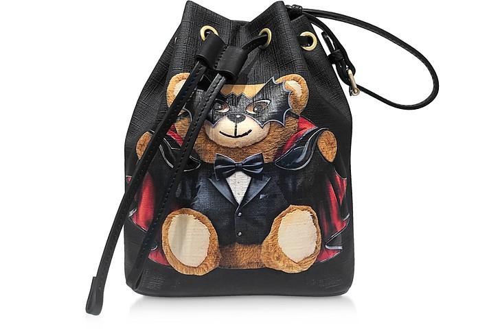 Teddy Bear Mini Bucket Bag - Moschino