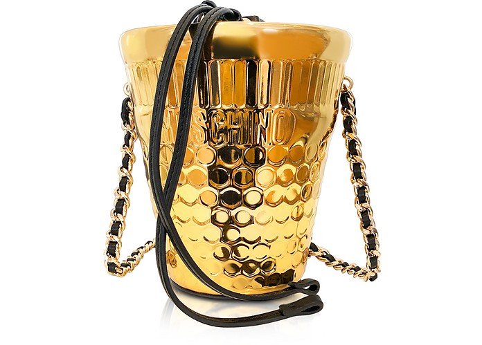 Golden Bucket Bag - Moschino