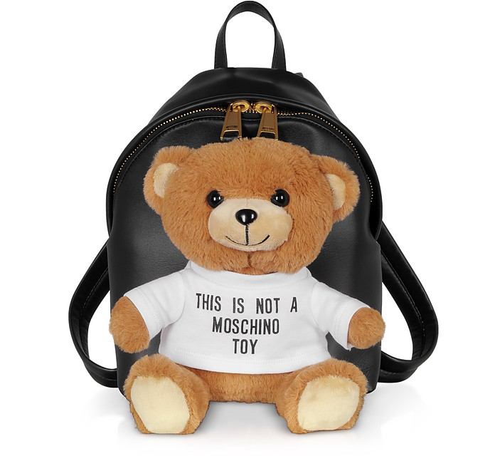 Teddy Soft Toy Mini Backpack - Moschino