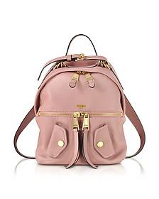 粉红色皮革背包 - Moschino 摩斯基诺