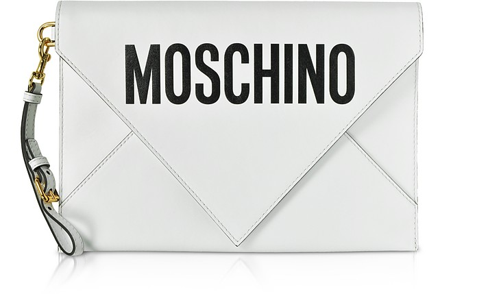 Flat Signature Envelope Clutch - Moschino / モスキーノ