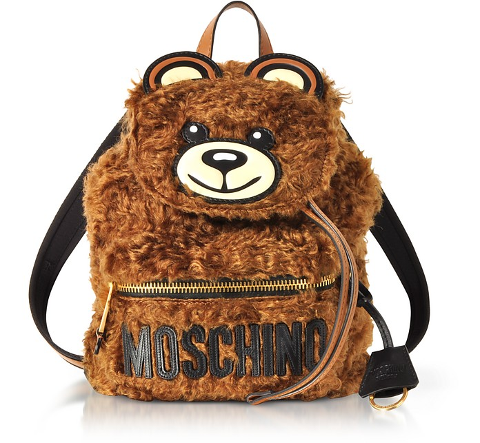 Teddy Bear Fleece Backpack - Moschino