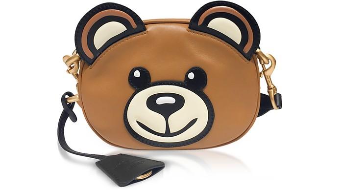 Teddy Bear Head Shoulder Bag - Moschino