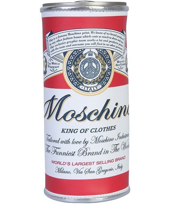 Budweiser Can Shaped Case - Moschino