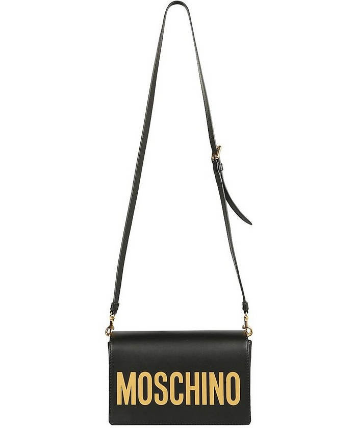Shoulder Bag With Logo - Moschino / モスキーノ
