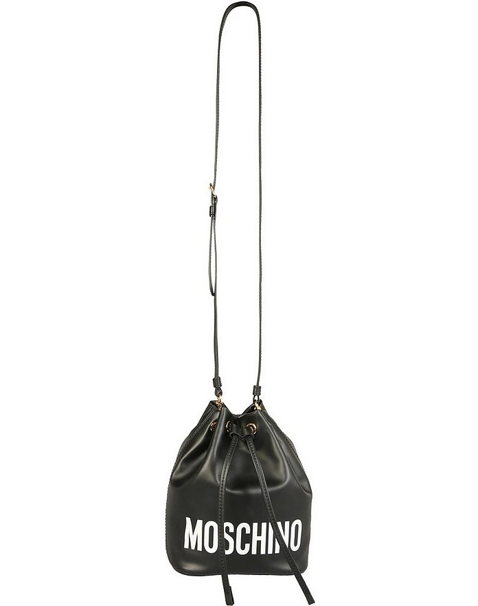 Bucket Bag With Logo - Moschino