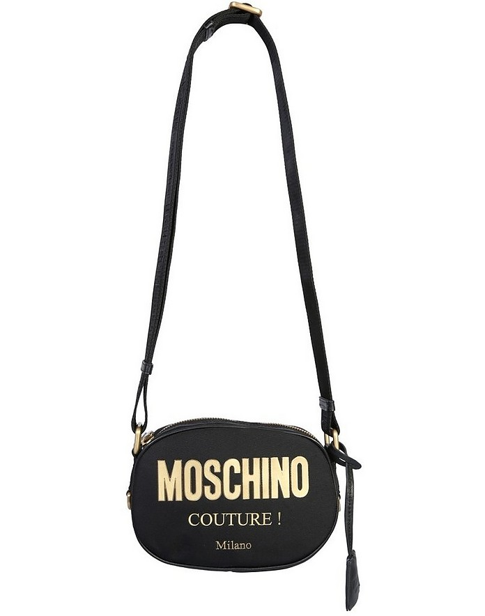 Shoulder Bag With Logo - Moschino