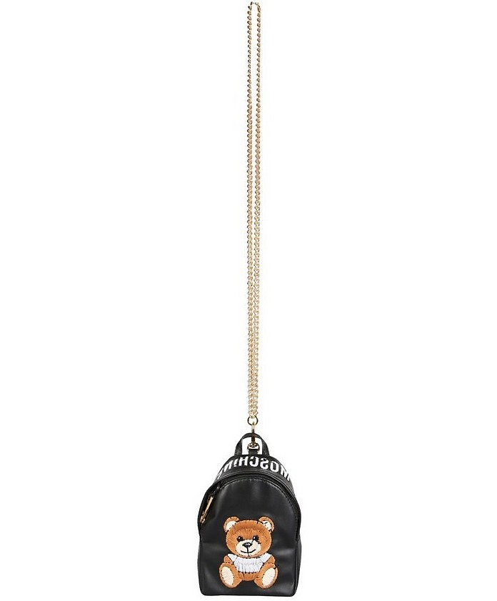 Mini Inside Out Teddy Backpack - Moschino