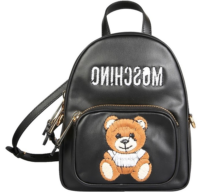 Inside Out Teddy Small Backpack - Moschino / モスキーノ
