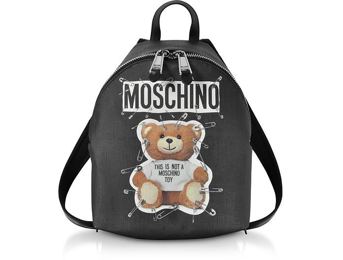 Teddy Bear Black Backpack - Moschino / モスキーノ