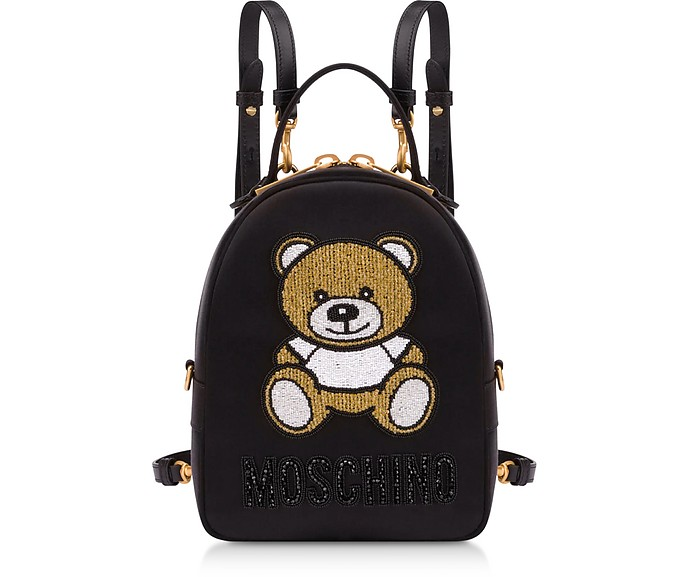 Teddy Bear Chain Mini Zaino - Moschino