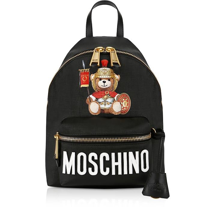 Teddy Bear Nylon Backpack - Moschino