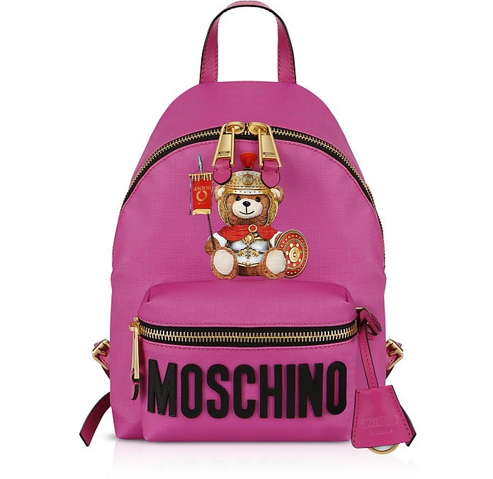 Teddy Bear Nylon Backpack - Moschino