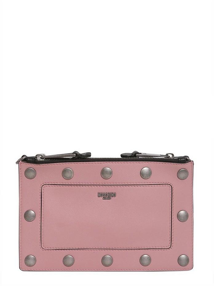 Crossbody Bag With Detachable Panel - Moschino