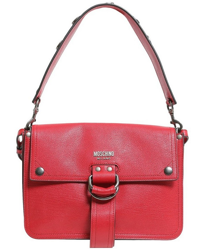 Shoulder Bag With Double Strap - Moschino