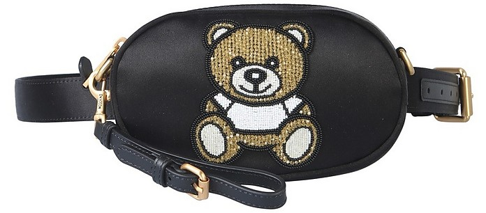 Beaded Teddy Bear Pouch (M) - Moschino