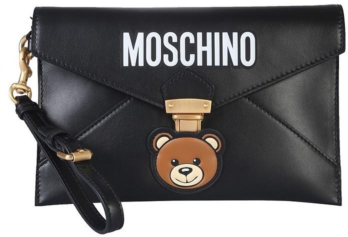 Teddy Bear Clutch - Moschino
