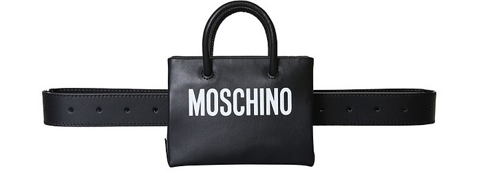 Pouch With Logo - Moschino 摩斯基诺