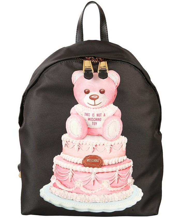 """Cake Teddy Bear"" Backpack - Moschino"
