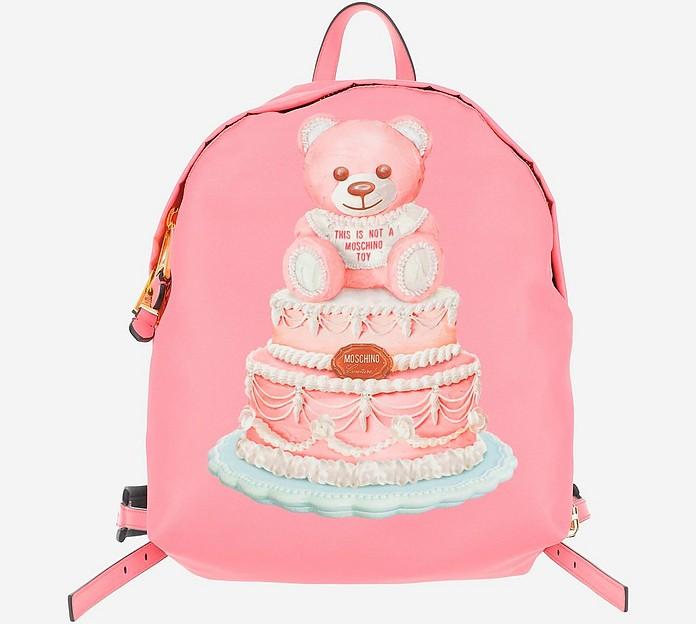 Cake Teddy Bear Backpack - Moschino
