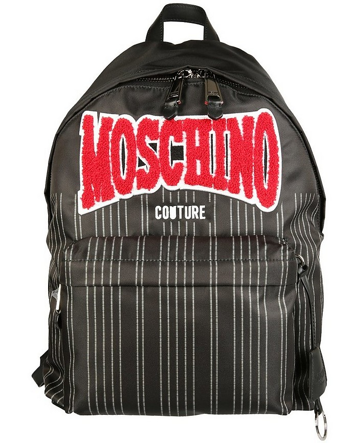 Pinstripes Backpack - Moschino