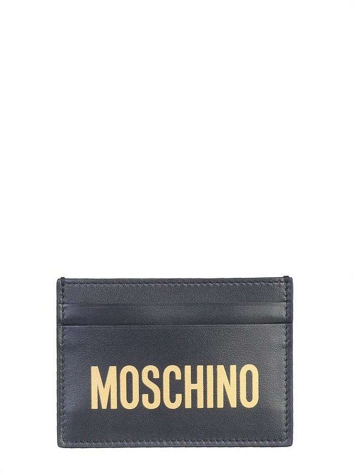 Card Holder With Logo - Moschino