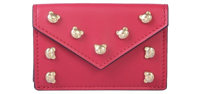 Leather Wallet - Moschino