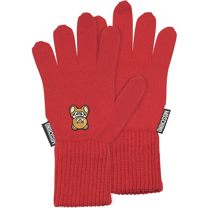 Moschino Toy Printed Gloves - Moschino
