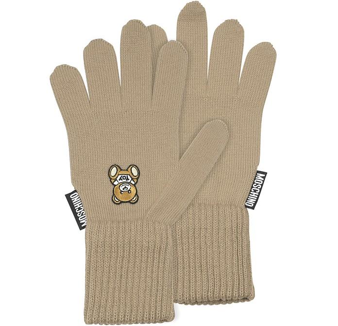 Moschino Toy Printed Gloves - Moschino