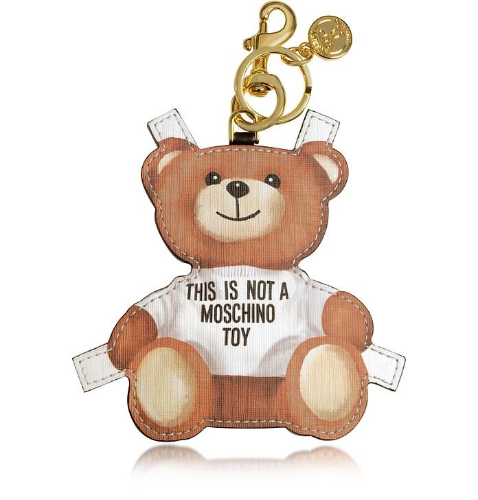 Teddy Bear Key Charm - Moschino